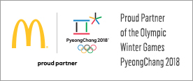 The Official Partner of PyeongChang 2018